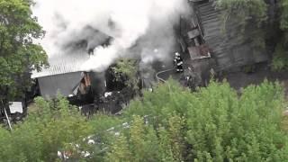 Пожар в Самаре.