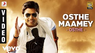 Osthe - Osthe Maamey Tamil Video | STR, Thaman