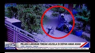 LAGI! Pelaku Eksibisionis Berulah di Depan Anak-anak di Komplek Permata Cikarang - Sergap 24/01