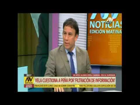 Alonso Peña Cabrera responde a fiscales Vela y Domingo Pérez