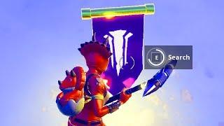 Find the Secret Banner in loading screen 8 Fortnite , Secret Battle Star Replaced Season 7 WEEK #8