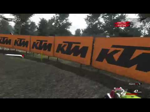 MXGP2 Valkenswaard, Netherlands Career Mode (Part 1)