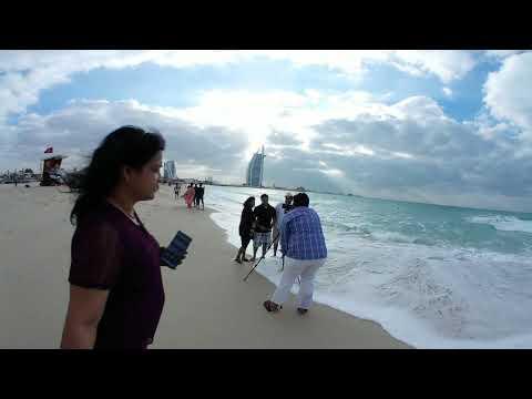 VR 360, Visiting Jumeirah Beach Park, Dubai 2018