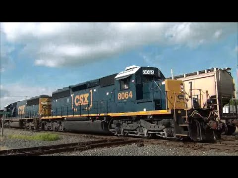 Awesome Trains Bang CF&E CSX Diamond Lima Ohio