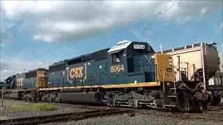 Awesome Trains Bang CF&E CSX Diamond Lima Ohio