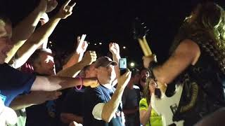 Zakk Wylde Crowd Solo - Ozzy Osbourne at Lakeview Ampitheater, Syracuse, NY 09-01-2018