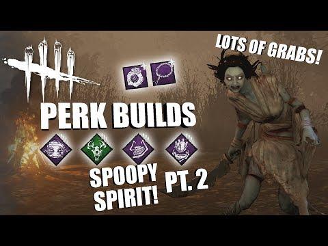 SPOOPY SPIRIT! PT 2  Dead  Daylight THE SPIRIT PERK BUILDS