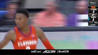 clemson vs georgia condensed game 2018 19 acc basketball
