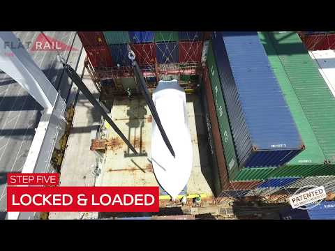 Flat Rail- how to ship Break Bulk as OOG