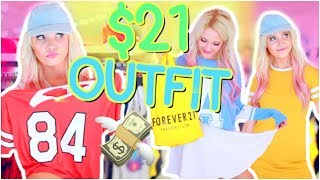FOREVER 21 OUTFIT CHALLENGE!