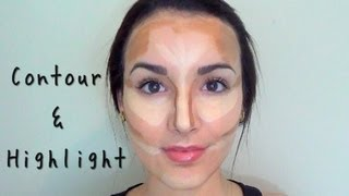 Contouring & Highlighting: How to get Kim Kardashian Definition