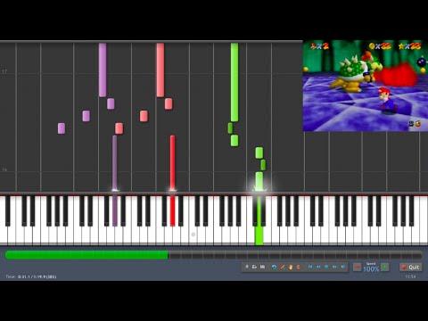 Super Mario 64 - Koopa's Theme (Synthesia)