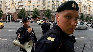 Москва вышла на улицы Винтилово у Избиркома. За что задержали Орла