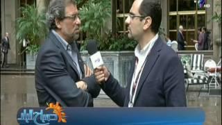 بالفيديو.. خالد يوسف من «نيويورك»: موقف القيادة السياسية من الإرهاب يعبر عن المصريين جميعا