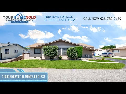 RBID HOME FOR SALE - 11040 EMERY ST, EL MONTE, CA 91731