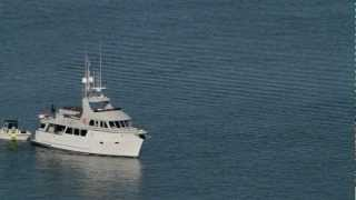 Northern Marine 65T yacht.  Expedition type trawler yacht.