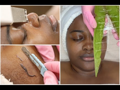 Holistic Facial Using Clean Skincare Only! {Dermaplaning + Ayurveda + Massage}