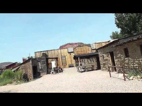 Little Hollywood Museum.  Kanab, Utah  Outlaw Josey Wales Homestead Set