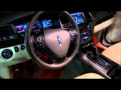 2013 Lincoln MKS Start-up & Exhaust Rev