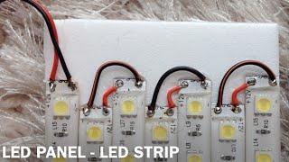LED PANEL - LED STRIPS 600 LEDs - 5050 - DIY