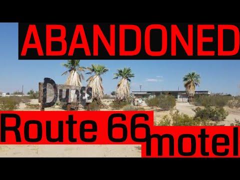 Abandoned Desert Motel on Old Route 66