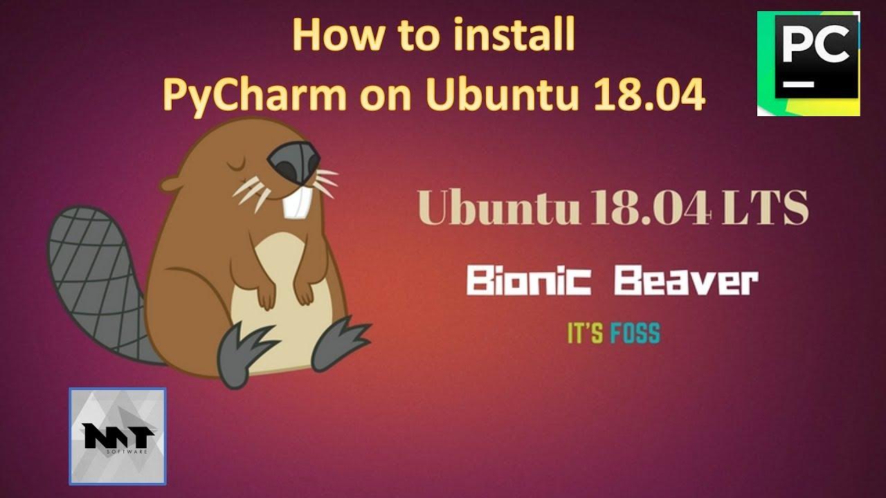 How to install PyCharm on Ubuntu 18 04