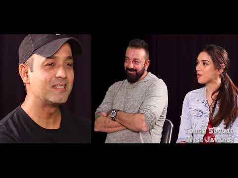 Sanjay Dutt & Aditi Rao Hydari Play The HILARIOUS Father – Daughter Awkward Situation Games