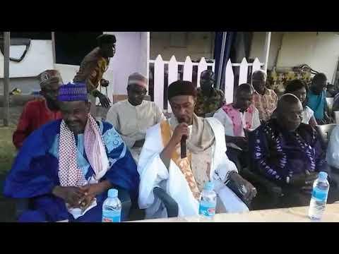 Ghana Muslim Youth in Malabo,Equatorial Guinea Maulidun Nabiyyi S.A.W.