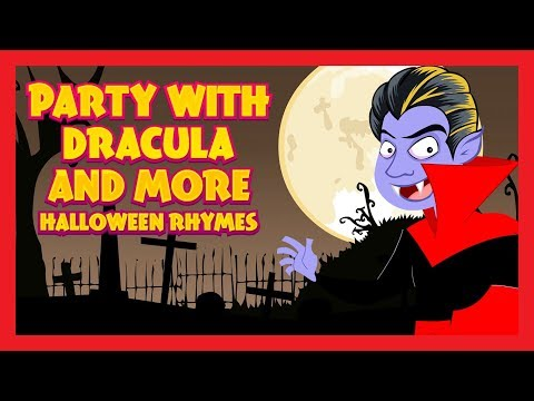 Party With Dracula And More Halloween Rhymes - Kids Hut Halloween Special
