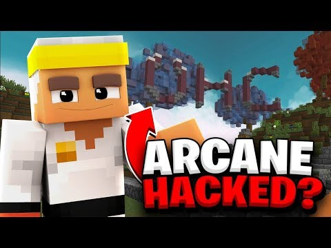 HACKING into Arcane... *LEAKED*