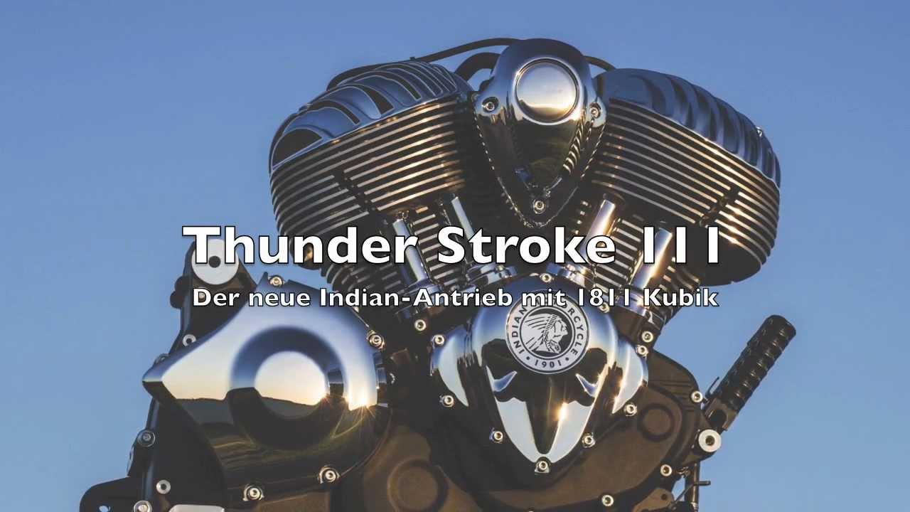 #Soundcheck Indian Thunder Stroke 111 - der neue Motor für 2014