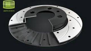 Диск тормозной ВАЗ 2110, 1118 Калина, 2170 Приора, вентилируемый Trialli R-14