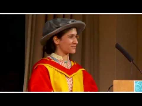 Honary Doctorate Shabana Basij-Rasikh, SOAS Graduation 2016, SOAS University of London