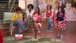 Cast of The Brady Bunch on THE TALK