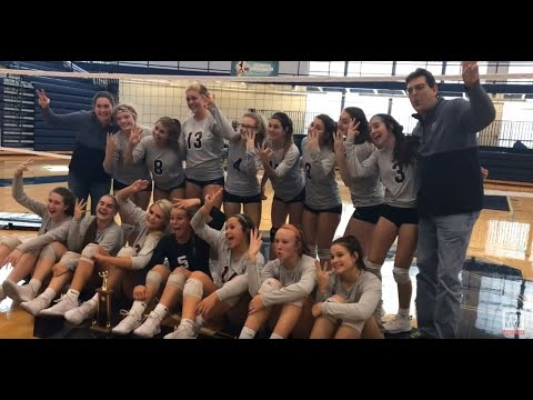 Fruitport's volleyball players dance night away after taking Muskegon city title