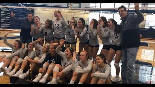 Fruitport volleyball team beats Montague for third straight Greater Muskegon title