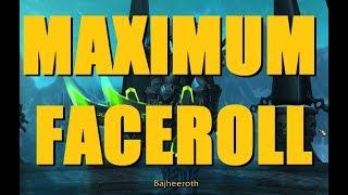 Bajheera - MAXIMUM FACEROLL FROST DK 3v3 ARENA - WoW Legion 7.3 Death Knight PvP