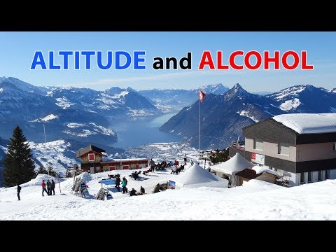 Altitude and Alcohol