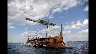 Флот древних греков. Как выглядели триеры? Военные материалы