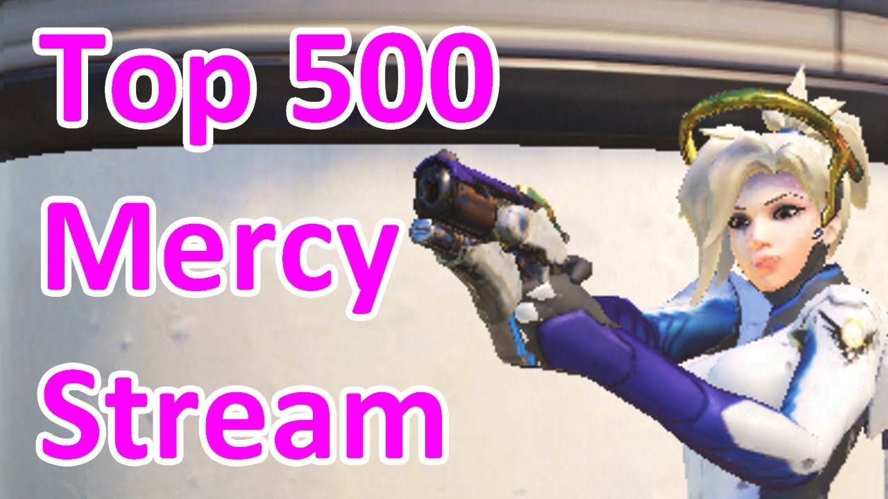 Competitive top 500 support Overwatch player in ranked masters GM smurf account battle mercy