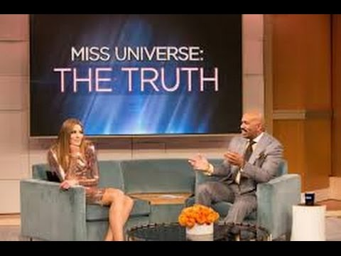 Steve Harvey entrevista a Ariadna Gutierrez Miss Colombia FULL