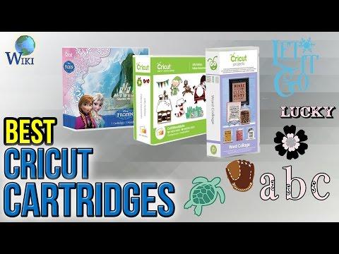 8 Best Cricut Cartridges 2017