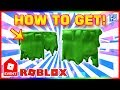 Roblox Events - Slime Shoulder Pads from Blox Hunt - Kids Choice Awards Event