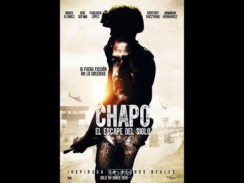 El escape del siglo ¿La pelicula del Chapo es real?¿cuando sale en cines?