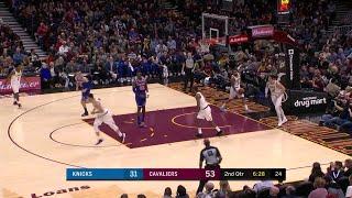 2nd Quarter, One Box Video: Cleveland Cavaliers vs. New York Knicks