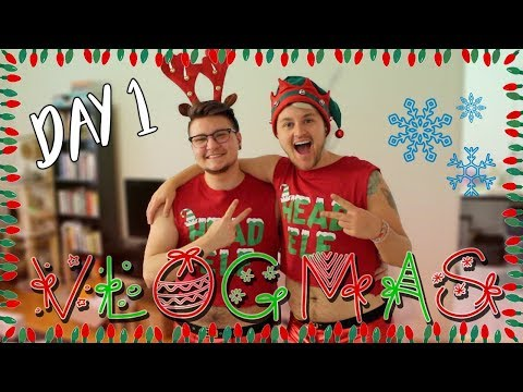 FESTIVE AS F*** ft. AARON (VLOGMAS DAY 1) - 동영상