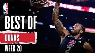 NBA's Best Dunks | Week 20 | 2019-20 NBA Season