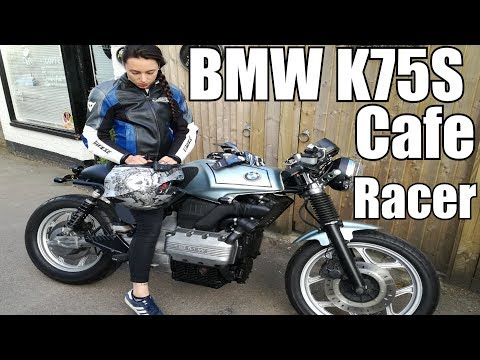 BMW K75 / K100 Cafe Racer Build | Dual Vlog | Biker Girl
