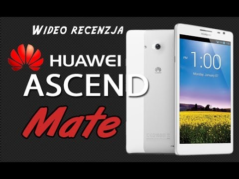Huawei Ascend Mate - Wideo recenzja na FrazPC.pl