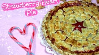 Diy Valentine's Day Treats - Strawberry Heart Pie